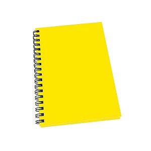 Caderno Grande Universitário Capa Dura Com 100 Folhas Pautadas Uma Matéria