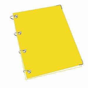 Caderno Argolado Fichário 200 Folhas Sem Pauta Universitário