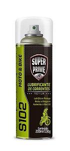 Lubrificante Corrente Moto Spray Super Prime S102 200ml