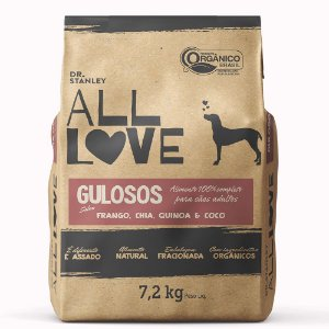 All Love -  Gulosos | Frango, Chia, Quinoa & Coco 7,2 kg