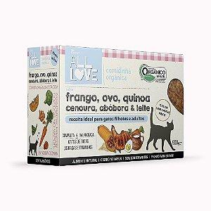All Love | Comidinha Orgânica para gatos Filhotes e Adultos 900 g
