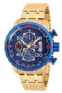 660f63ba95e Relógio Invicta 25867 Bolt 51mm Caixa Com Banho Em Ouro 18k ...
