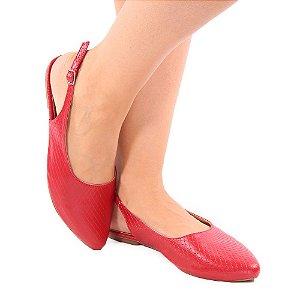 Sapatilha Zhaceci Chanel Vermelha