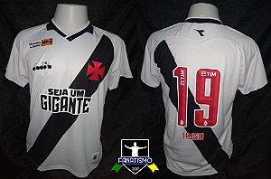 Camisa do Vasco Oficial II Diadora 2019  19 Hugo Borges Usada em Jogo   Portuguesa 64a5fb2591165