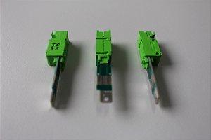 Modulo de Proteção Mini MPDG-NG - Verde - Para Bloco BTDG - Caixa c/ 10 unidades