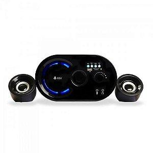Caixa Multimídia 2.1 16W RMS com Bluetooth VC-G300BT Preta