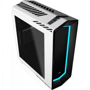 Gabinete Gamer Mid Tower PROJECT 7 EN58300 Branco AEROCOOL
