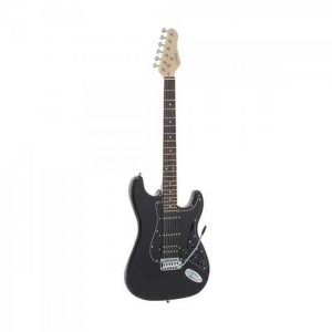 Guitarra Strato G-101 Preta GIANNINI