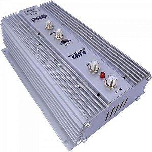 Amplificador VHF/UHF/CATV PQAP-6350 35dB PROELETRONIC