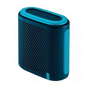 Caixa de Som Mini Bluetooth/SD/P2 100W RMS Azul e Verde Puls