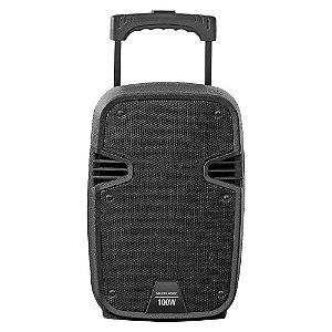 Caixa de som Multifuncional Ativo Amplificadora 100W RMS Multilaser