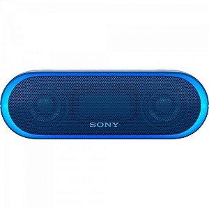 Caixa Multimídia 20W Wireless Bluetooth/NFC SRS-XB20/L Azul