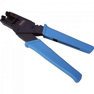 Alicate de Compressão 20,3mm PROFT-0016 Preto/Azul PROELETR