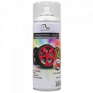Spray de Envelopamento Liquido 400ML AU420 Preto Fosco MULTI