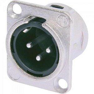 Conector Macho XLR NC3MDL1 NEUTRIK