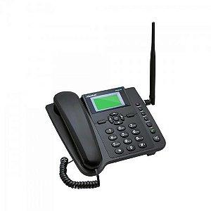 Telefone Celular de Mesa Quadriband 3G CA403G Preto AQUÁRIO