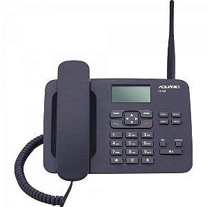Telefone Celular Fixo CA40-S Preto AQUARIO
