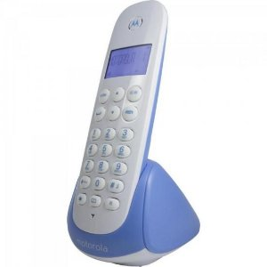 Telefone s/fio Digital c/ Ident de Chamadas MOTO700B Branco/