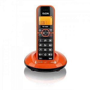 Telefone sem Fio com ID TSF-7600 Laranja ELGIN