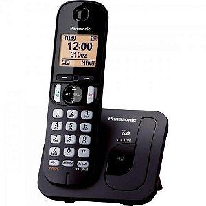 Telefone sem Fio com ID/Viva Voz KX-TGC210LBB Preto PANASONI