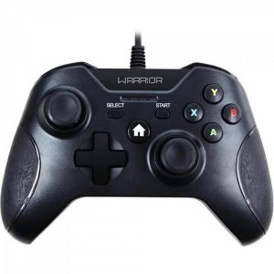 Controle WARRIOR Gamer p/ Xbox One e PC JS078 Preto MULTILAS