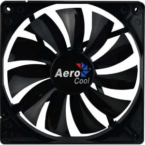 Cooler Fan 14cm DARK FORCE EN51349 Preto AEROCOOL
