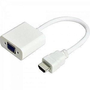 Conversor HDMI x VGA com Áudio ADAP0038 Branco STORM