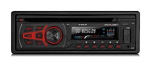 Cd Mp3 Player Automotivo Multilaser Disco P3322 Usb Aux