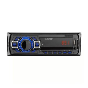 Som Automotivo New One Bluetooth Rádio FM Entradas USB P2 e