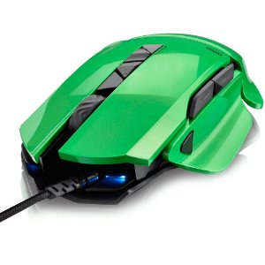 Mouse Gamer Warrior 8200Dpi 8 Botões Led Colorido Multilase