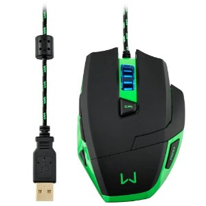 Mouse Multilaser Warrior Gamer 3200DPI - MO245