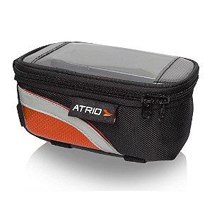 Bolsa Porta Celular Para Cano De Bicicleta Preto Atrio - BI0