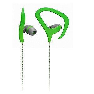 Fone de Ouvido Auricular Fitness Verde Multilaser - PH165