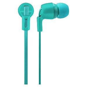 Fone De Ouvido Intra Auricular Multilaser Neon Series Azul -