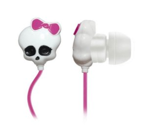Multilaser Fone de Ouvido Monster High Skull PH106
