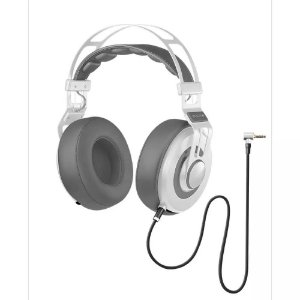 Headphone Premium Wired Large Branco