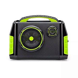 Caixa de Som Amplificadora Party Speaker Bluetooth 120W RMS