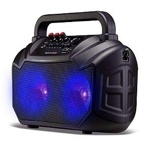 Caixa De Som Multilaser Amplificadora Portátil Bluetooth US