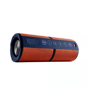 Caixa de Som Waterproof com Bluetooth Laranja Pulse - SP246