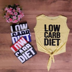 Cropped Laço - Low Carb Diet