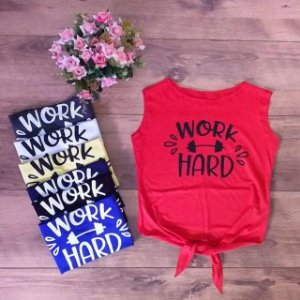 Cropped Manga - Work Hard