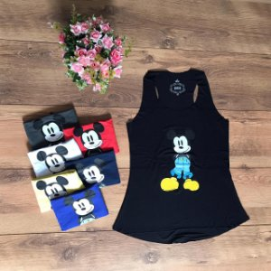 Regata Acinturada - Shy Mickey Mouse