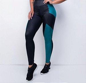 Legging Fitness Bicolor Green