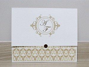 Convite de Casamento PE08 - 10 unidades