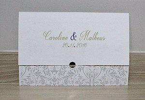 Convite de Casamento PE10 - 10 unidades