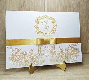 Convite de Casamento MB03 - 10 unidades