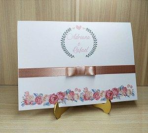 Convite de Casamento MB04 - 10 unidades