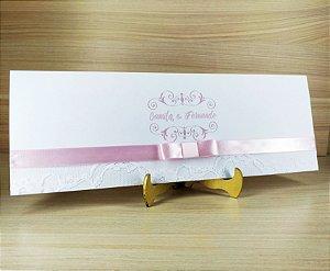 Convite de Casamento Modelo PR05 - 10 Unidades