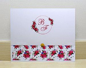 Convite de Casamento PE11 - 10 unidades