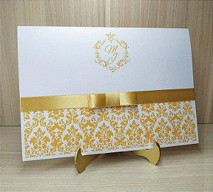 Convite de Casamento MB07 - 10 Unidades